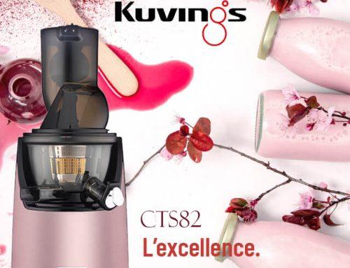 KUVINGS 玫瑰金 冷壓活氧萃取原汁機 慢磨機 破壁機 CTS82 (預購) 新品上市